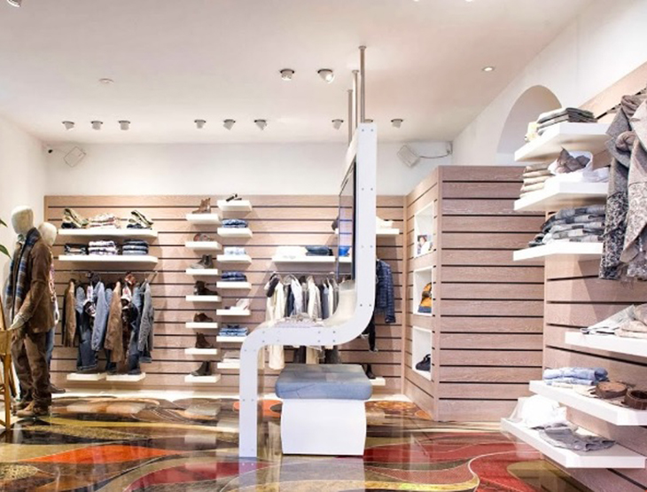 Flagship store 9 2 by carlo chionna civico 46 for Finestra modale